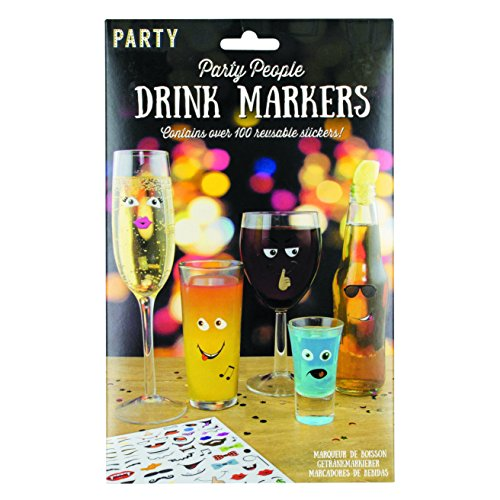 Paladone Party Sticker Drink Markers