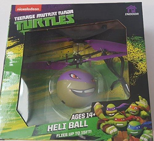 Teenage Mutant Ninja Turtle Heli Ball - Fun Indoor R/C Hand Control Flying Sphere Donatello by Nickelodeon
