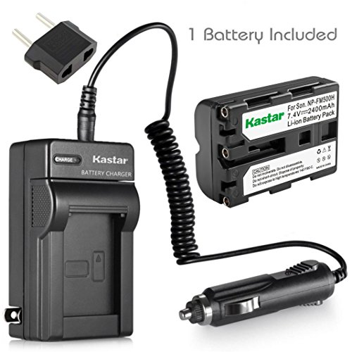 A500 A200 A850 A900 Digital Cameras A65V DSTE NP-FM500H Rechargeable Li-ion Battery with Charger DC01 for Sony Alpha SLT-A57 CLM-V55 A58 A300 A550 A99 A77 A350 A560 A65 A77V A450 A580 DSLR-A100 A700
