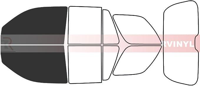 EXT Rtint Window Tint Kit for Chevrolet Trailblazer 2002-2006 20/% - Back Kit