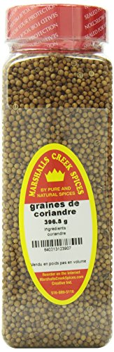 Marshalls Creek Spices Coriander Seed Seasoning, Whole, XL Size, 10 Ounce by Marshall's Creek Spices (Image #2)