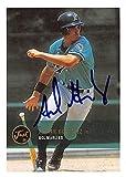 Adrian Gonzalez autographed baseball card (Florida Marlins, Dodgers Star, FT) 2000 Just Minors #237 Rookie
