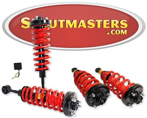 Strutmasters 4 Wheel Air Suspension Conversion Kit With Suspension Warning Light Module for2003-2004 Ford Expedition