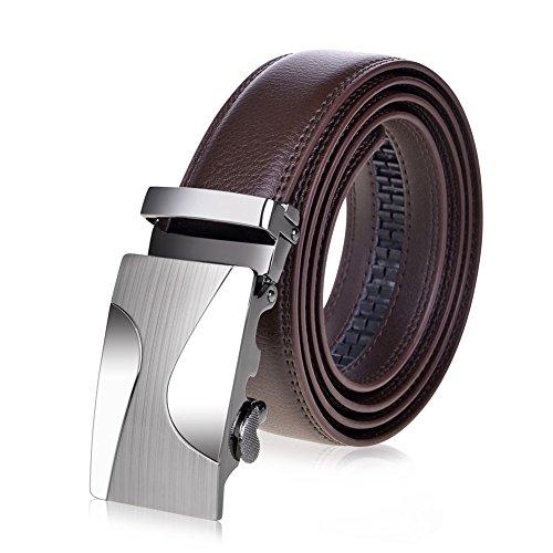 Vbiger Leather Sliding Buckle Ratchet product image