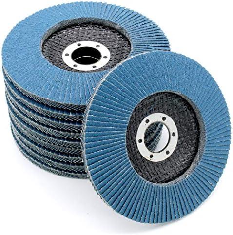Compartiments Disques │ marron │ 20 pi/èces │ /Ø/115/mm │ grain 80 │ Standard │ Disques Abrasifs │ Disques /à Lamelles