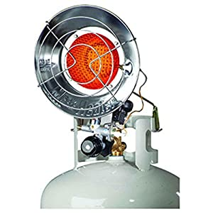 Mr Heater F242105 10-15K BTU Spark Ignition Tank Top Propane Patio Heater