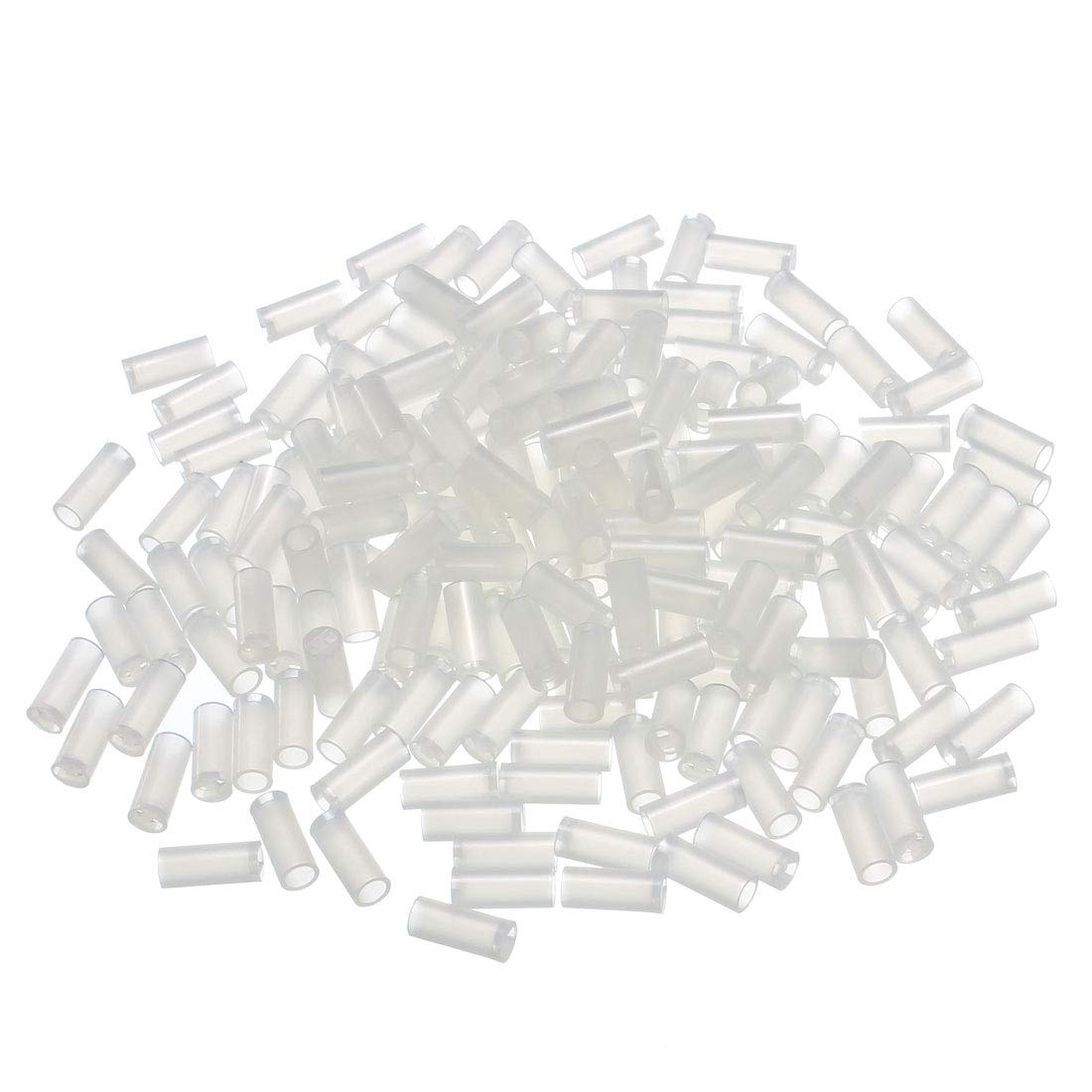 uxcell 200pcs 3x4x3mm Nylon Straight Insulating Tube PCB LED Mount Standoff Spacer