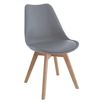 Mmilo Tulip Dining ChairOffice chair Pyramid Solid legs