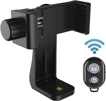 AFAITH Universal Adaptador para trípode de teléfono celular ...