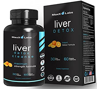 Liver Cleanse Detox Energy Formula ? New ? with Vitamin C, Vitamin B6, Folic Acid Plus Vitamin B12 and a Proprietary Blend of N-Acetyl-L-Cysteine, Choline, Bitrate, Inositol, and TMG - 60 Veggie Caps