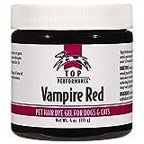 Top Performance Dog Hair Dye Gel, 4-Ounce, Vampire Red
