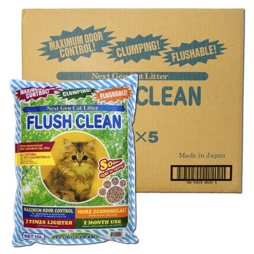 Flush Clean Cat Litter Case