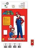 Super Mario Brothers, Mario Costume, Large