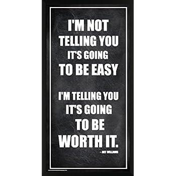 Culturenik Arthur Williams Inspirational Motivational Businessman Executive Celebrity Quote Classroom Print (Framed 12x24 Poster)