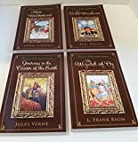 img - for Enjoy This 4 Pack - The Wizard of Oz, Alice in Wonderland, Journey to the Center of the Earth & The Time Machine book / textbook / text book