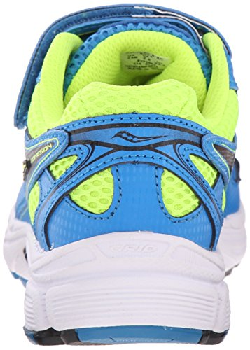 C 8 A Kid Cohesion Saucony Blue Shoe Little Big Running Kid Citron 7BqwT5xWn