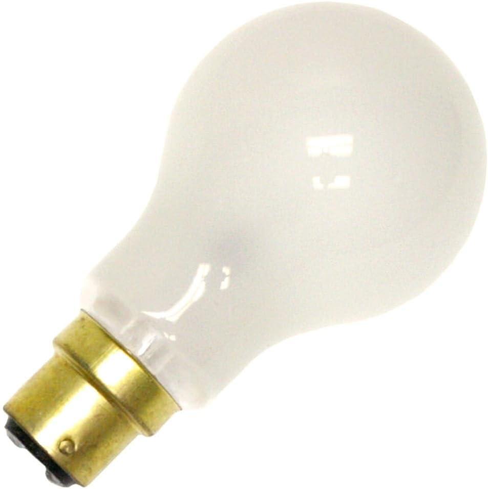 Narva 02522-25A//B22D//IF 120-130V A19 Light Bulb