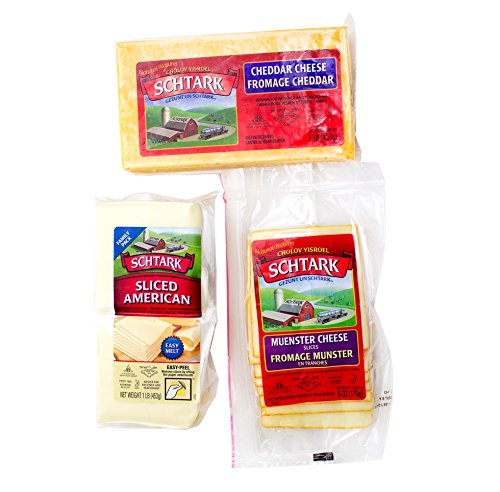 Schtark Super Kosher 3 Flavor Cheese Assortment, 3 Count (Pack of 3)
