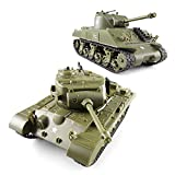 POCO DIVO Sherman vs Pershing Infrared Battle Tanks