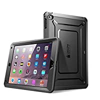 iPad Mini 4 Case, SUPCASE [Heavy Duty] Apple iPad Mini 4 Case 2015 [Unicorn Beetle PRO Series] Full-Body Rugged Hybrid Protective Case Cover with Built-in Screen Protector (Black/Black)