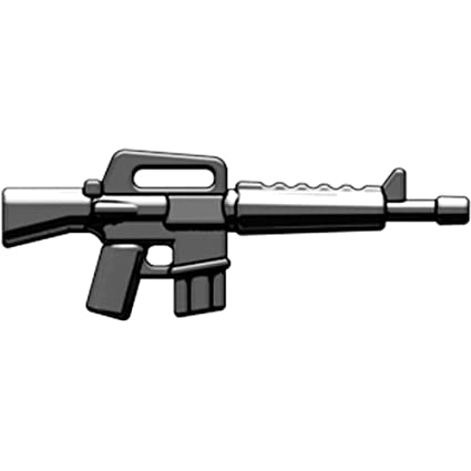 amazon com brickarms 2 5 scale weapon m16 toys games