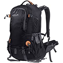 G4Free 50L Outdoor Backpack Camping Climbing Hiking Backpack for Backpacker with Rain Cover