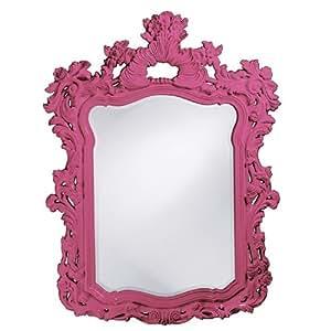 Howard Elliott 2147HP Turner Mirror, Hot Pink