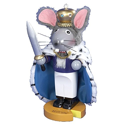 Steinbach Limited Edition Chubby Mouse King Nutcracker Signed by Herr Christian (Steinbach Signed)