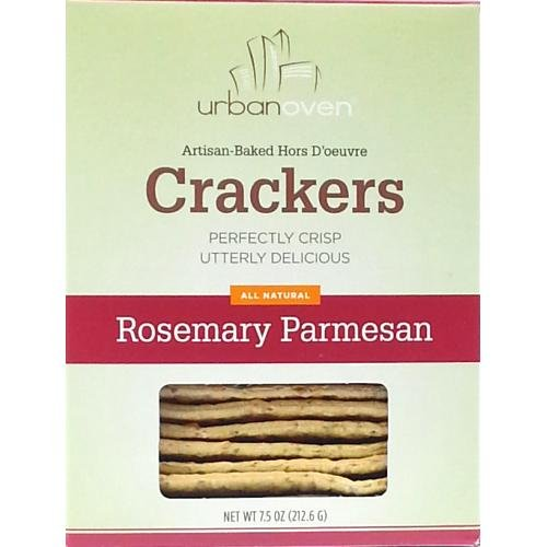 Urban Oven Rosemary Parmesan Crackers (6 pack)