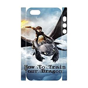 iphone 5S 3D Phone Case White How To Train Your Dragon Carton F6567132