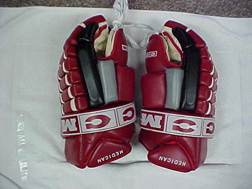 Bret Hedican Game Used Hockey Gloves Carolina Hurricanes