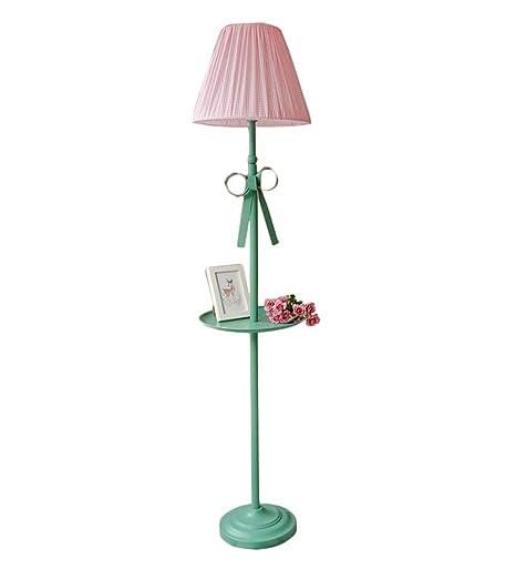 Lámpara de pie Estante Control Remoto Lavable Pantalla a ...