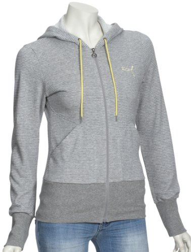 Hooded Con Heather Da Puma Donna large Xx Sweat Donna Athletic Jacket Heather Giacca Cappuccio Grigio Gray 1XR17wcqU