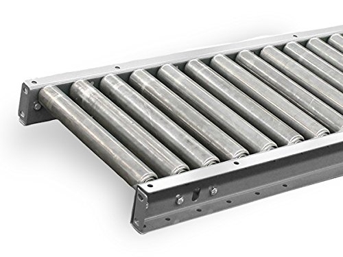 10ft Frame Aluminum (Aluminum Gravity Roller Conveyor - 10' Length - 10