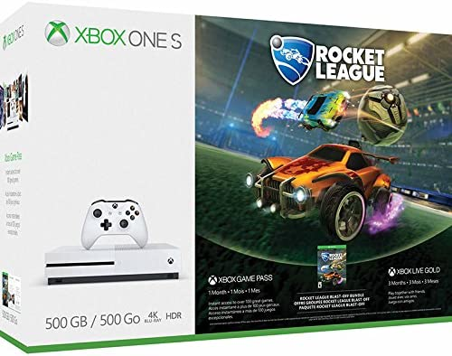 MICROSOFT - XBOX ONE S 500 GB + ROCKET LEAGUE: Amazon.es: Hogar