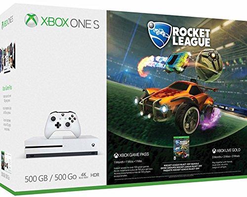 Xbox One S 500 GB + Rocket League + Live 3m  Bundle   Amazon.it  Videogiochi e0f71bb866d
