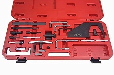 US PRO diésel y gasolina distribución para Ford 1,4, 1,6, 1,8 y 2,0 TDI B3204: Amazon.es: Bricolaje y herramientas
