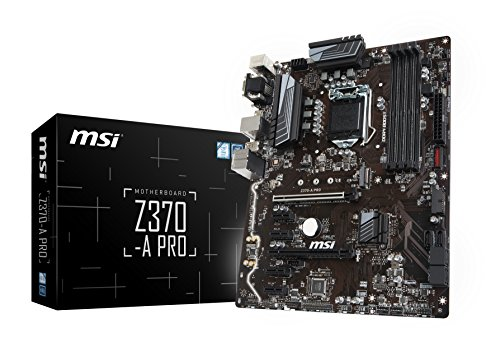 Price comparison product image MSI ATX Motherboard Motherboards Z370-A PRO