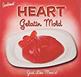 Heart Gelatin Plastic Mold