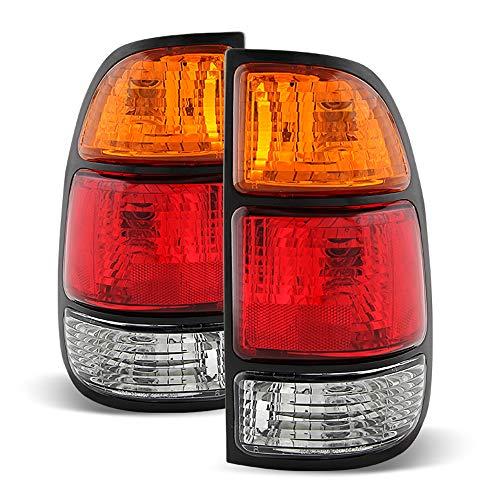 2000 00 Toyota Tundra Tail - ACANII - For 2000 2001 2002 2003 2004 Toyota Tundra Pickup Tail Brake Lights Left+Right