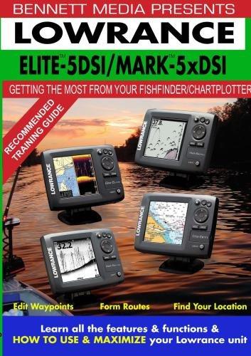 LOWRANCE ELITE-5 DSI FISHFINDER/CHARTPLOTTER MARK-5x DSI