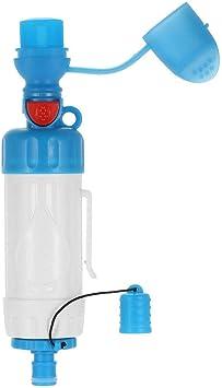 Filtro de Agua ABS portátil para acampadas, Senderismo, ABS, portátil, AB, Filtro de plástico ABS, Limpiador, purificador de presión: Amazon.es: Electrónica