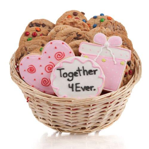 Wedding Cookie Gift Basket- 24 - Wedding Cookies Fortune