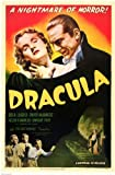 Dracula Movie Bela Lugosi 1931 Poster Print - 11x17