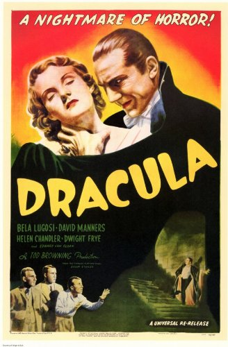 Dracula Movie Bela Lugosi 1931 Poster Print