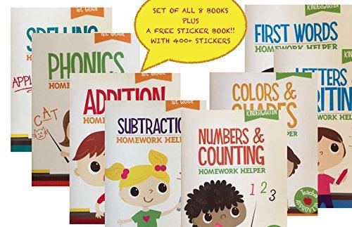 Kindergarten 1st Grade 8 Book Set Educational Activity