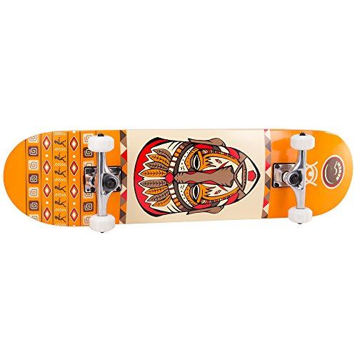 Cal 7 Complete Skateboard Popsicle Double Kicktail Maple Deck Skate Styles in Graphic Designs