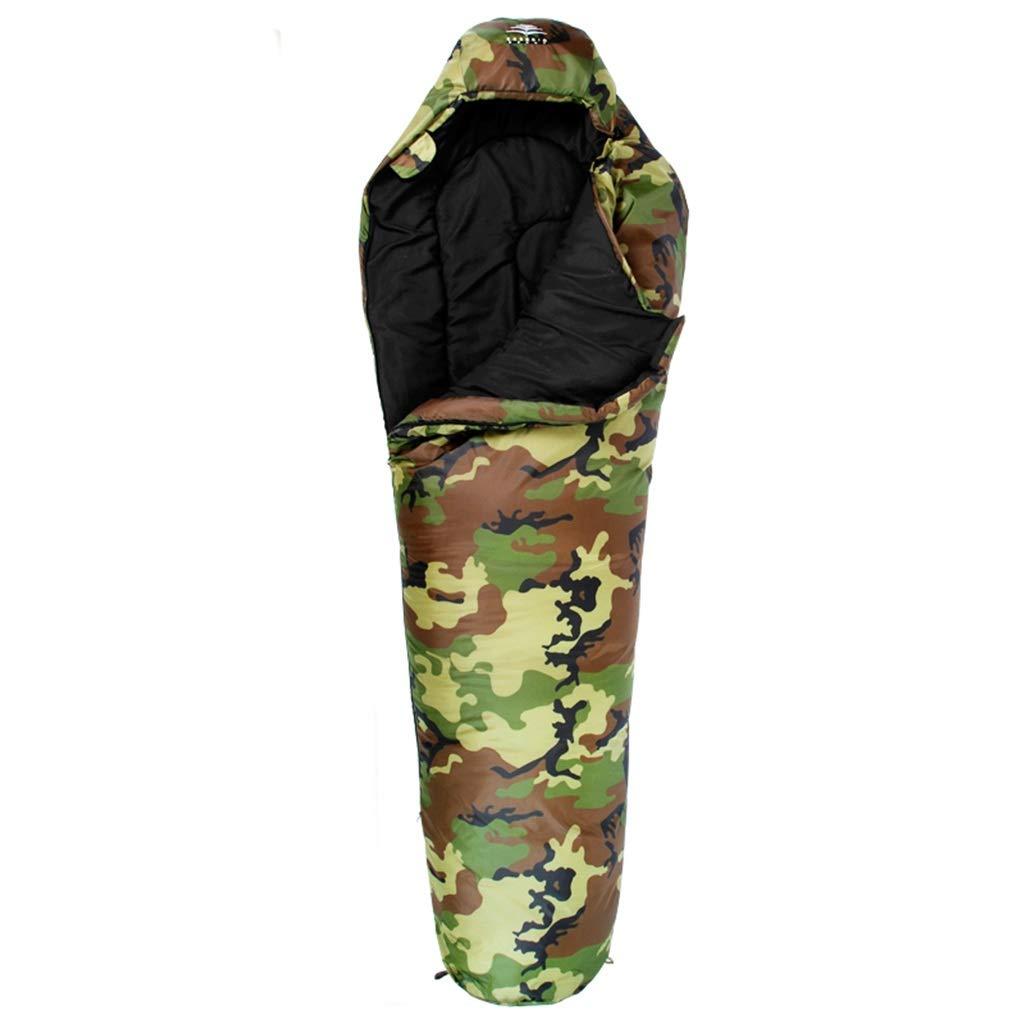 XY&CF Sac de Couchage Camping en Plein air Intérieur Déjeuner Pause Hôtel Isolement Sale Chaud Portable (Convient pour Environ 5 ° C) A -