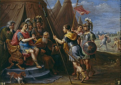 Oil painting 'Teniers David Godofredo y el Consejo escuchan la demanda de Armida 1628 30 ' printing on Perfect effect canvas , 12 x 17 inch / 30 x 43 cm ,the best Powder Room artwork and Home decor and Gifts is this Vivid Art Decorative Canvas Prints - Trailer Trash Barbie Costume