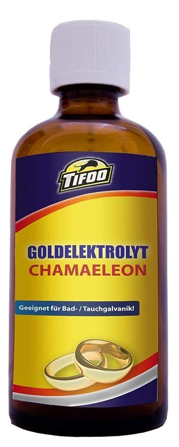 Goldelektrolyt Chamaeleon 100 Ml Vergoldung Vergolden Goldbad